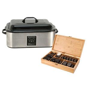 Hotstone 45 + Digitale Heater 18 liter pakket *JUBILEUM* AANBIEDING