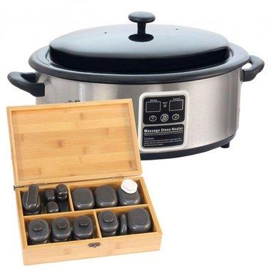 Hotstone 40 + Digitale Heater 6 liter pakket *JUBILEUM* AANBIEDING