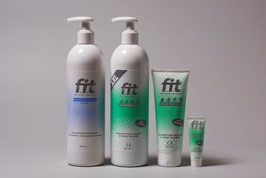 FIT Professional Care stimulerende massageolie Fles met pomp 500ml