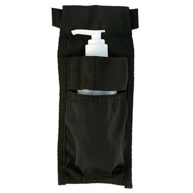 Olieholster enkel zwart + Flesje met pomp TAO-line
