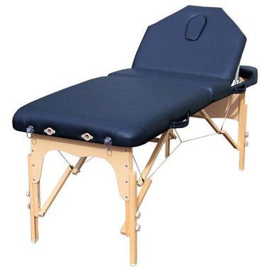 Fysio V Massagetafel pakket Donkerblauw 185x71 cm *JUBILEUM* AANBIEDING