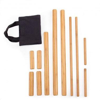 Bamboe Massageset 11-delig