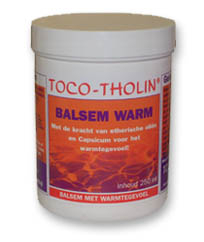 Massage Balsem Warm TOCO-THOLIN