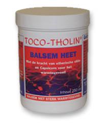 Massage Balsem Heet TOCO-THOLIN