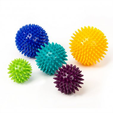 Massage-Noppenballen Spiky 5-delige set