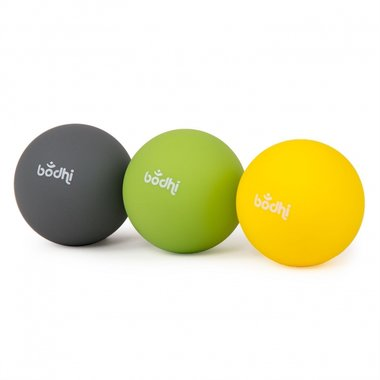 3 Massage balls for myofascial release, Ø 6,5 cm