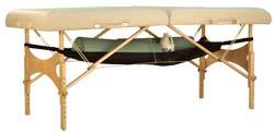 Hangmat voor onze massagetafels TAO-line