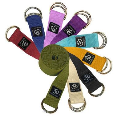 Yoga Riem katoen met metalen ringsluiting