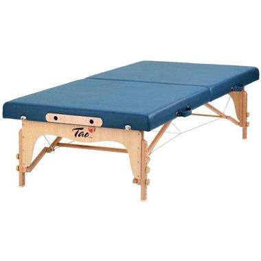 Feldenkrais Houten Massagetafel Basic Blauw TAO-line