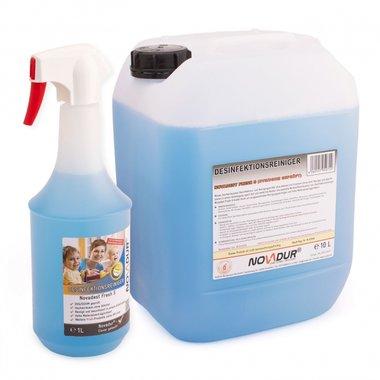Novadest Desinfectie reiniger voor oppervlakten 1 liter spuitfles