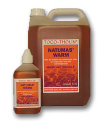 Natumas Warm massageolie TOCO-THOLIN