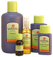 Neutrale Massageolie VOLATILE