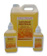 Natumas Neutraal massageolie TOCO-THOLIN