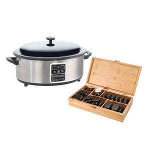 Hotstone 45 + Digitale Heater 6 liter pakket *JUBILEUM* AANBIEDING