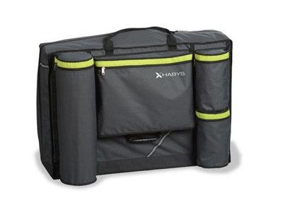 Draagtas Deluxe City Carry Case Massagetafel met wielen H.